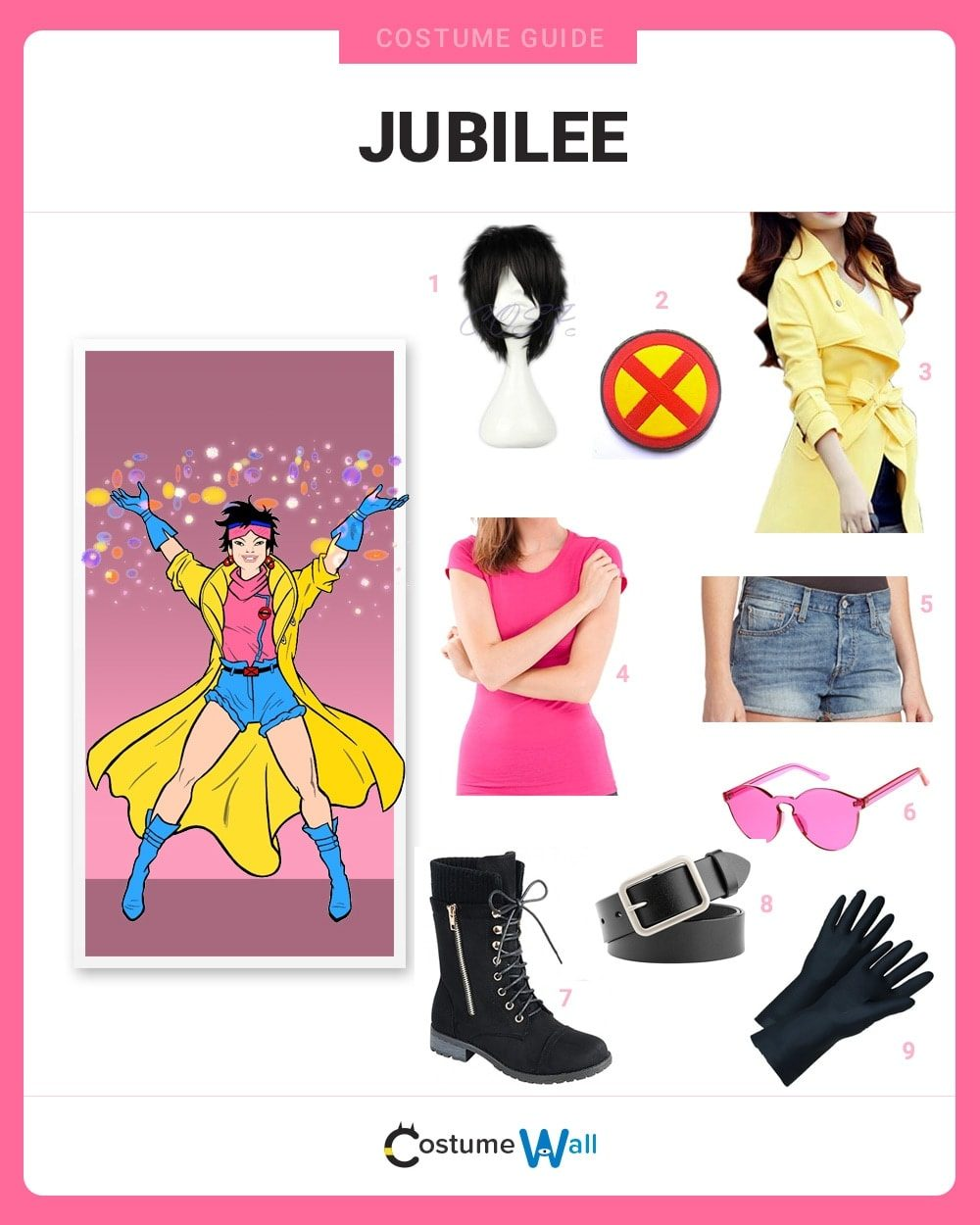 Jubilee Costume Guide