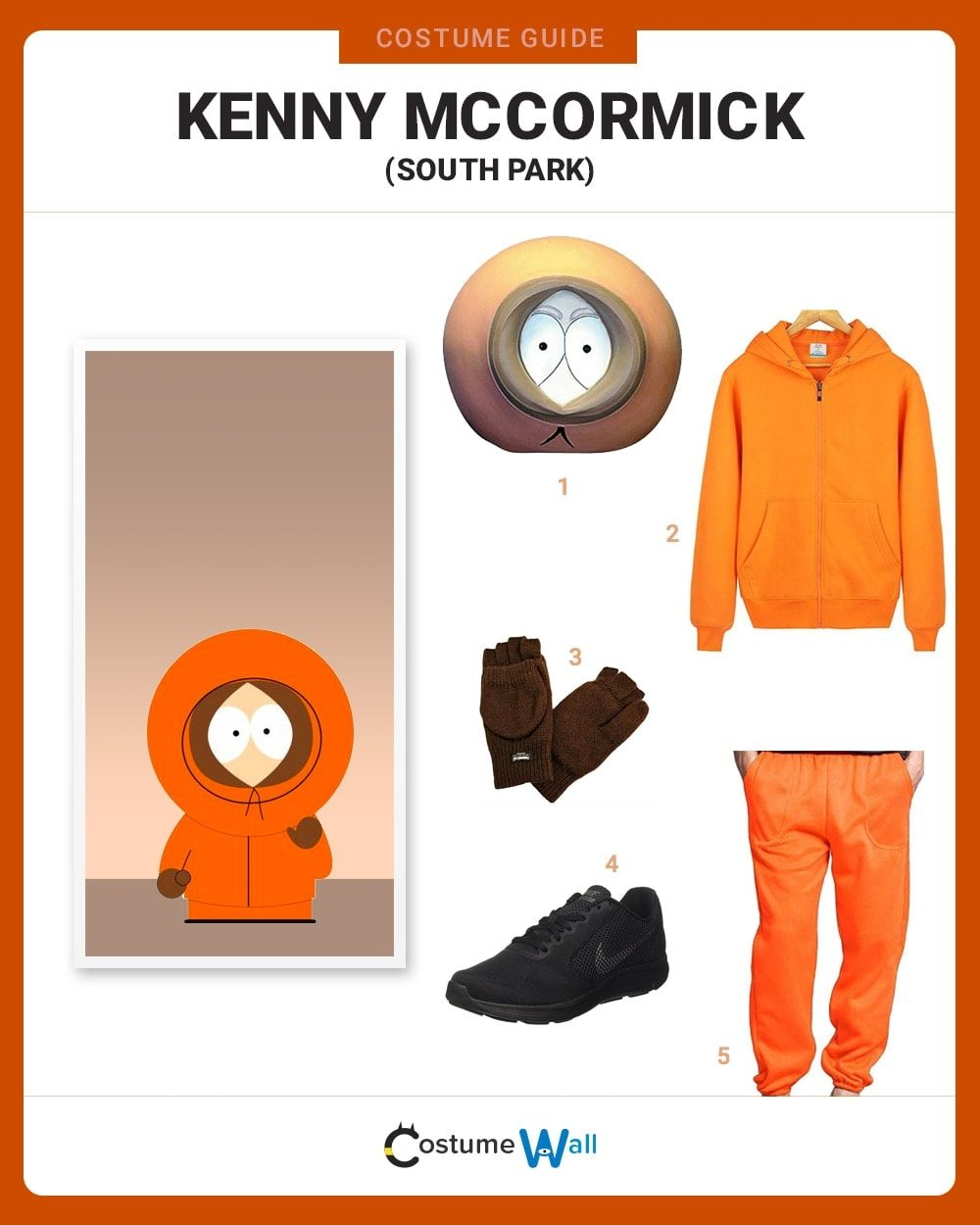 Kenny McCormick Costume Guide