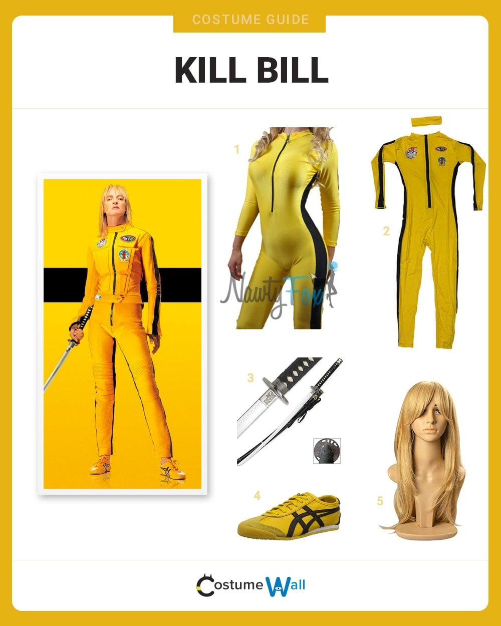 Kill Bill Costume Guide