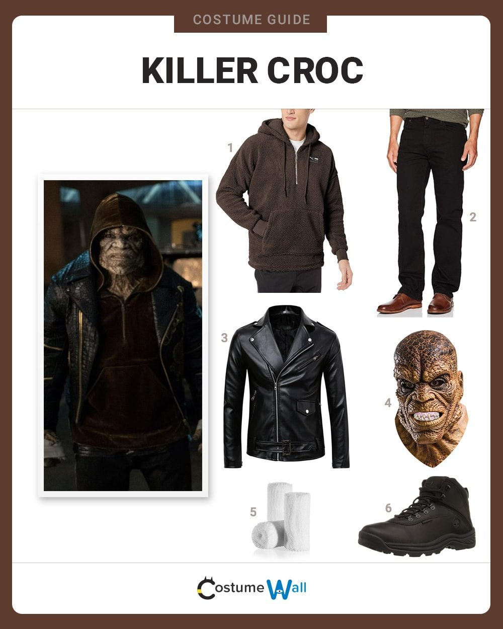 Killer Croc Costume Guide