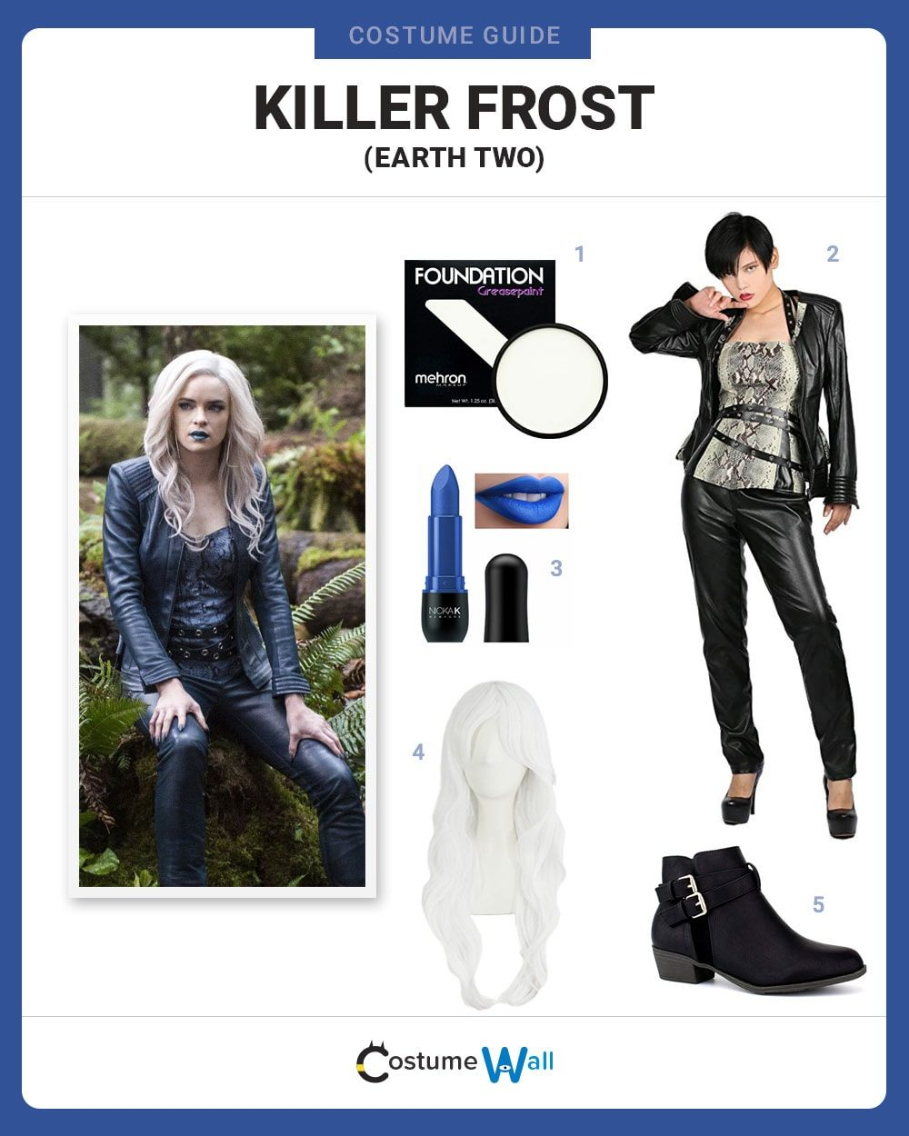 Killer Frost (Earth Two) Costume Guide