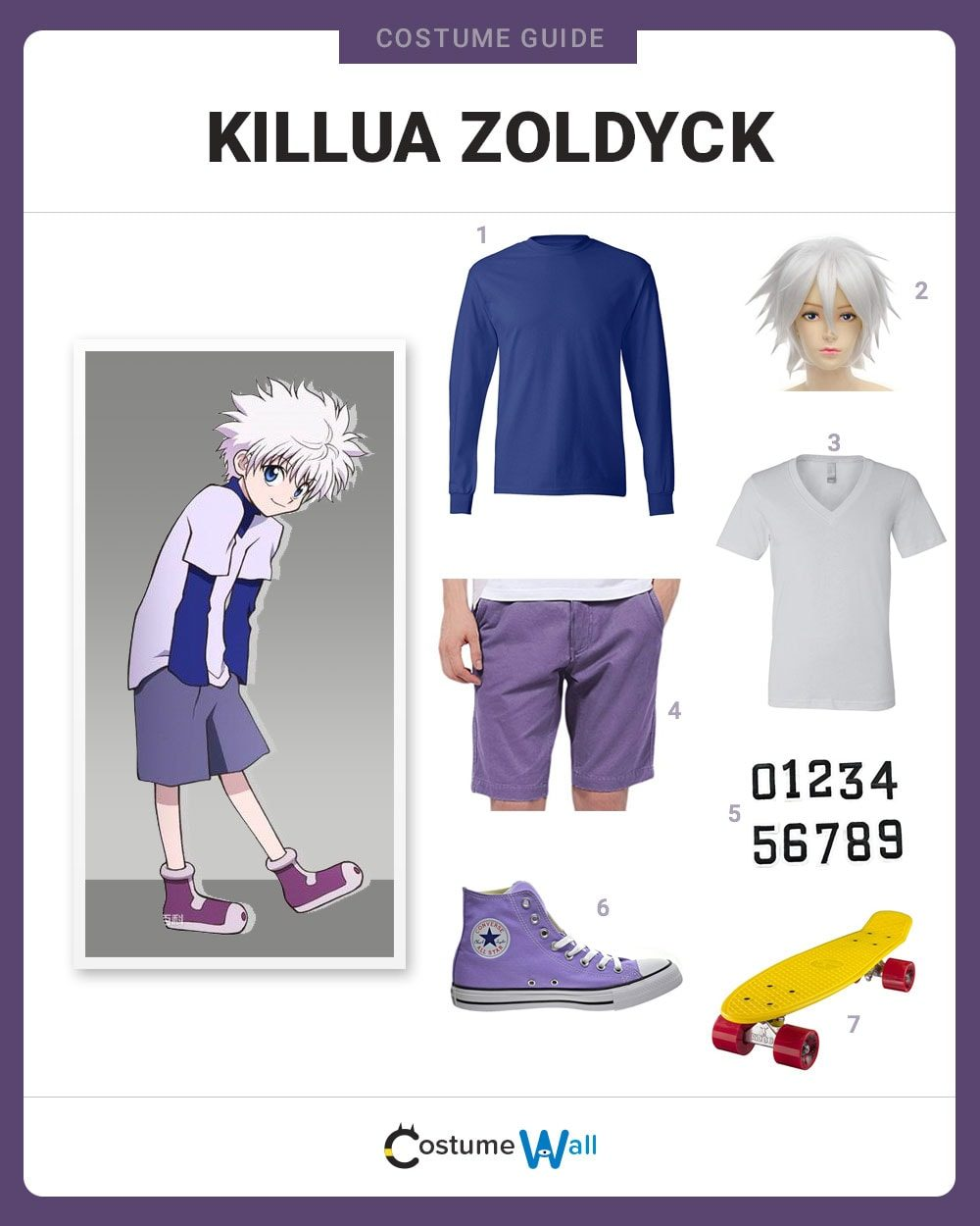 Killua Zoldyck Costume Guide