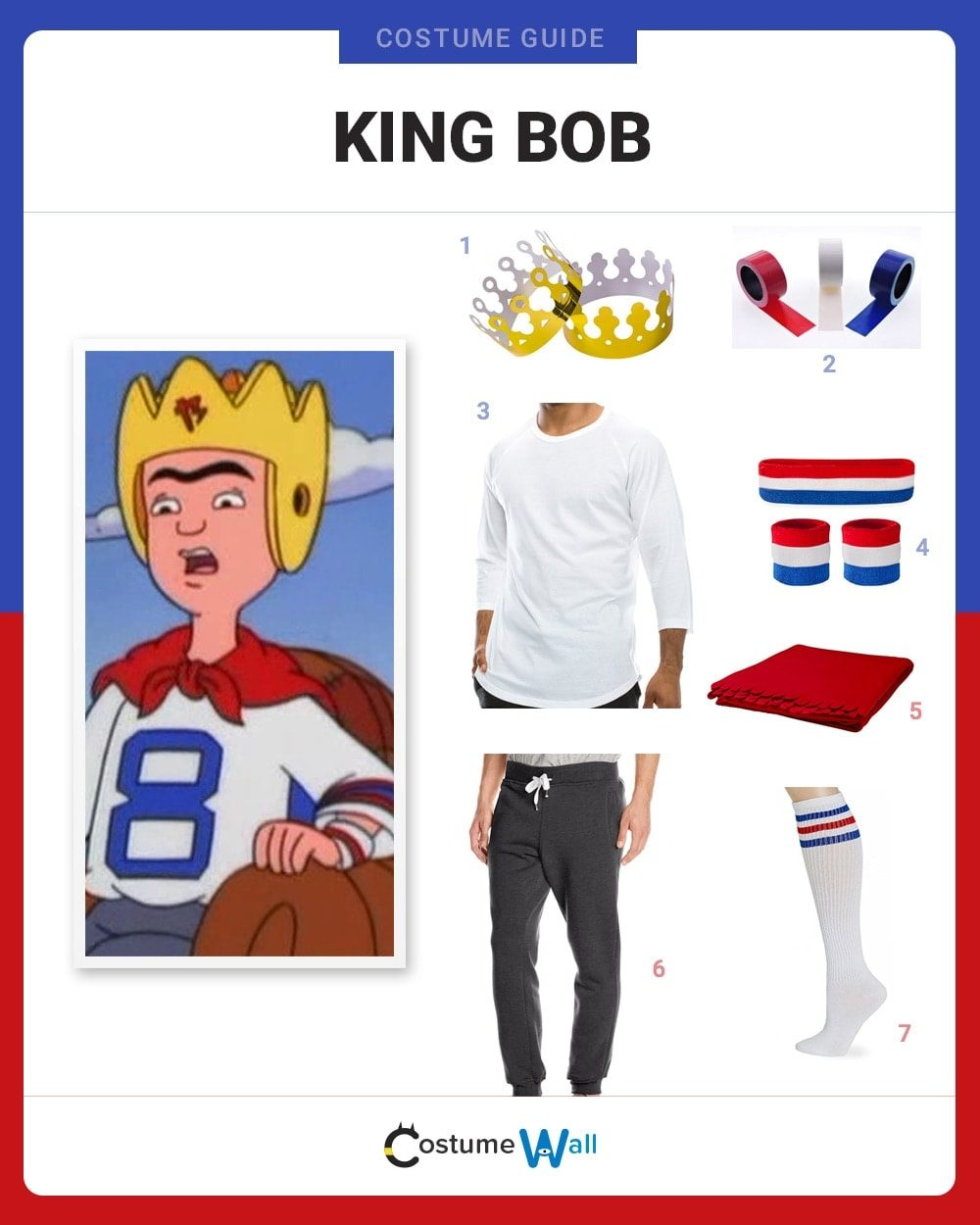 King Bob Costume Guide