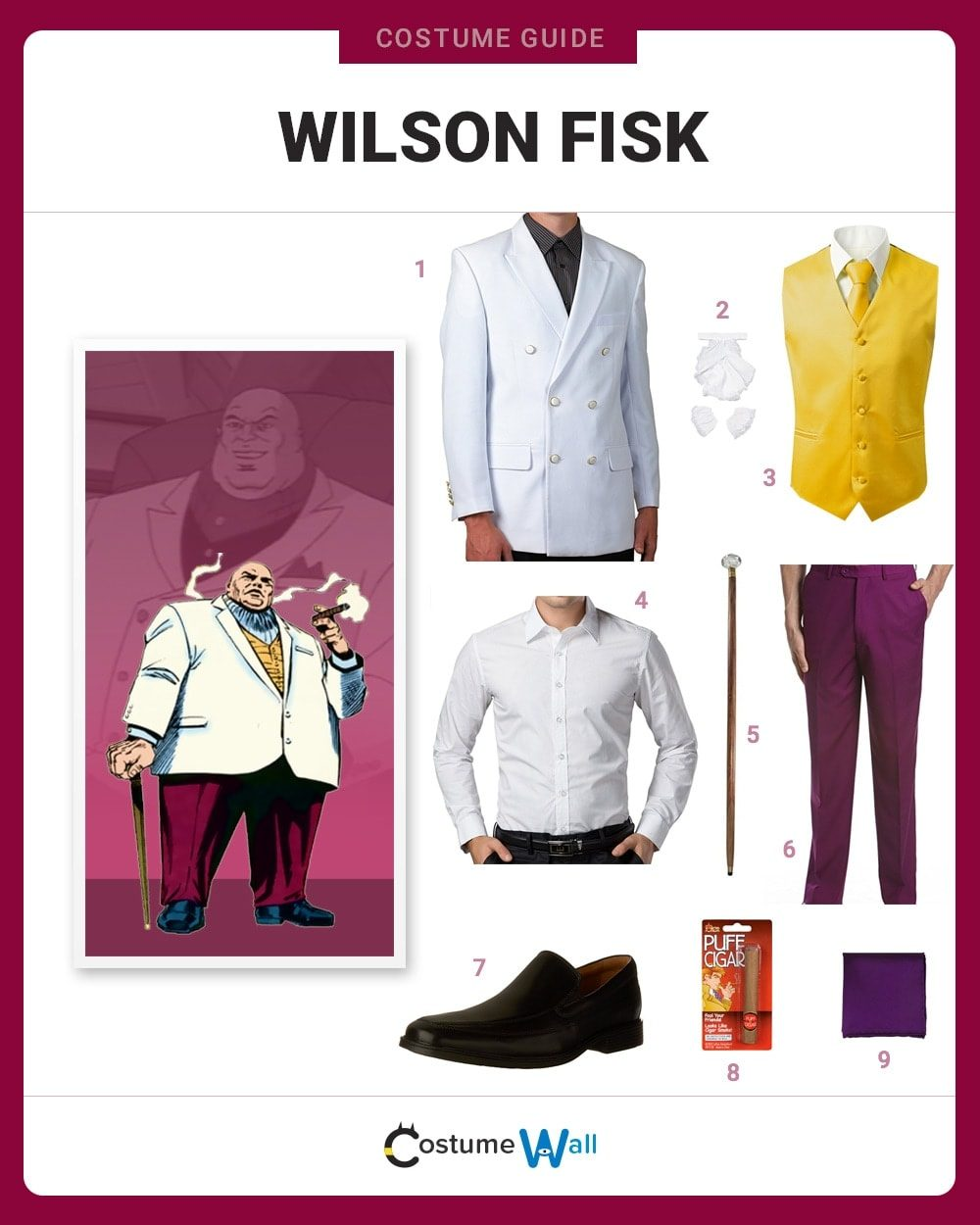 Kingpin Costume Guide