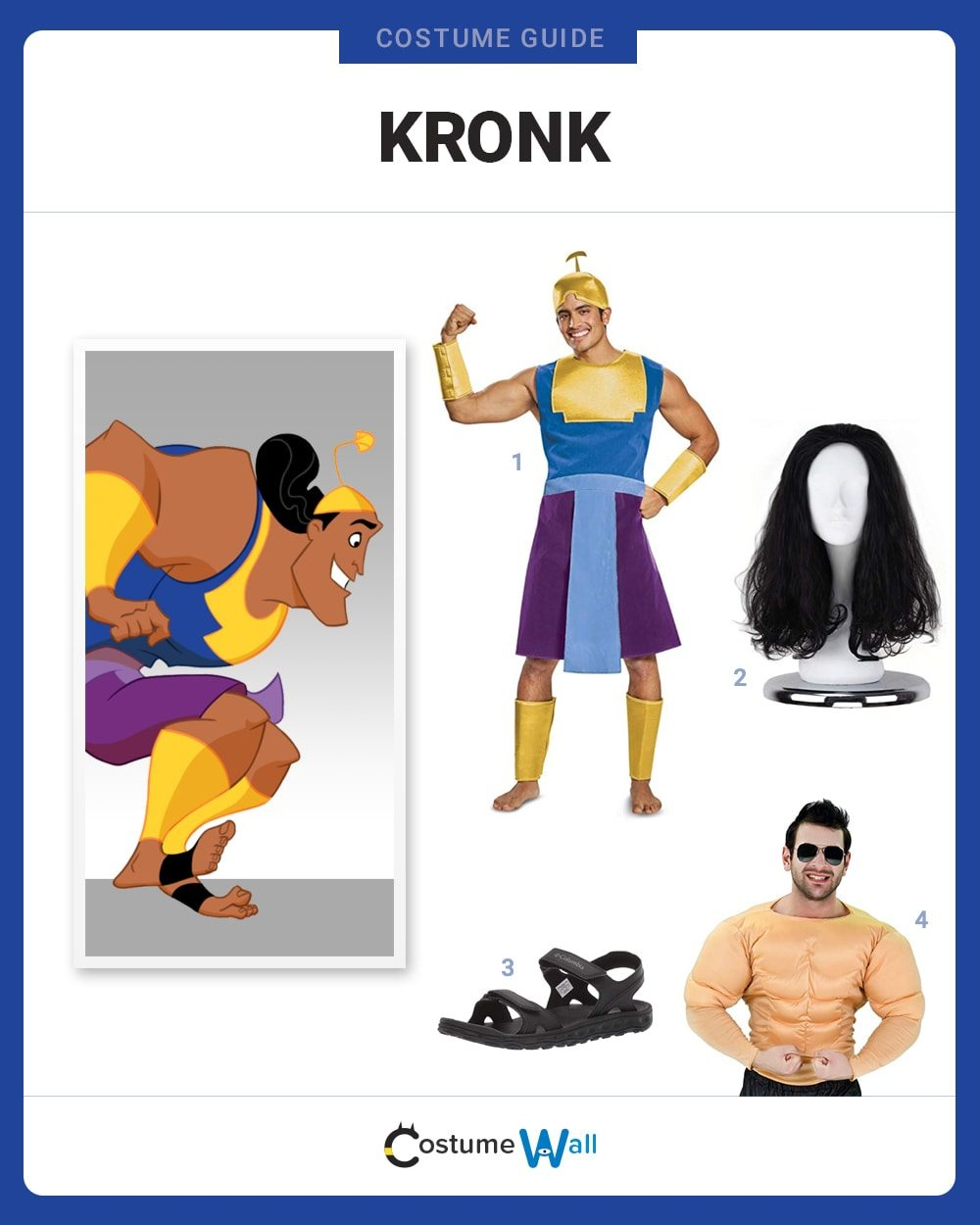 Disney Emperor/'s New Groove Kuzco Men/'s Costume