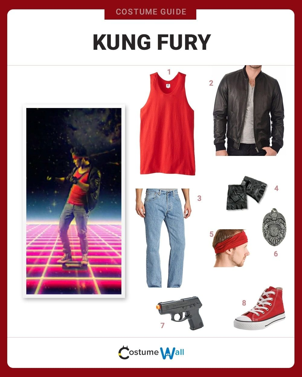 Kung Fury Costume Guide