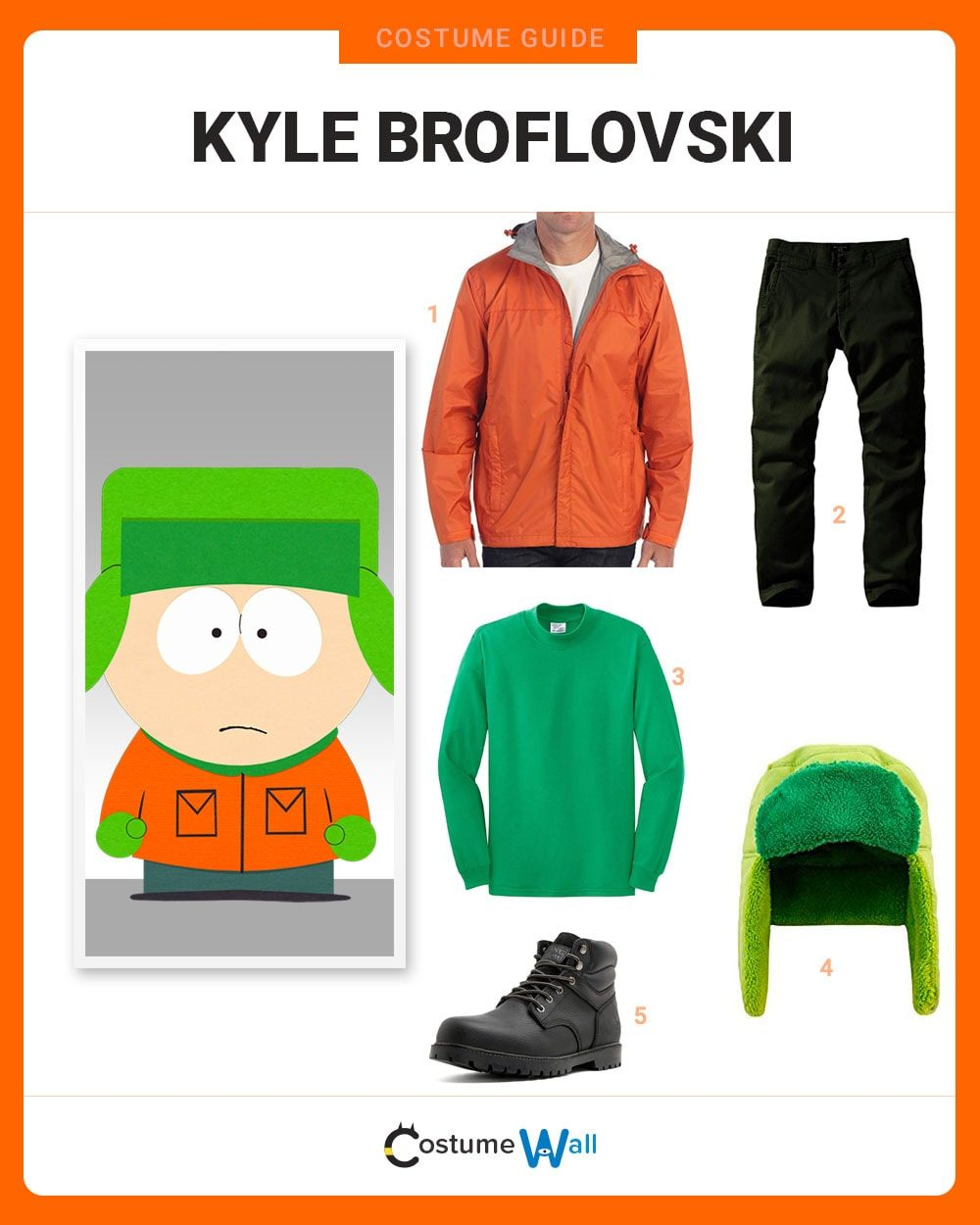 dress like kyle broflovski costume halloween and cosplay guides
