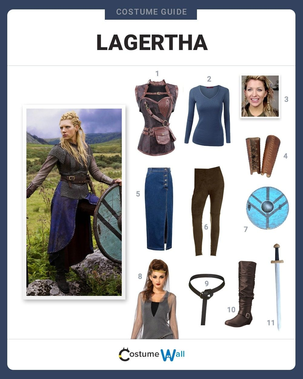 Lagertha Costume Guide