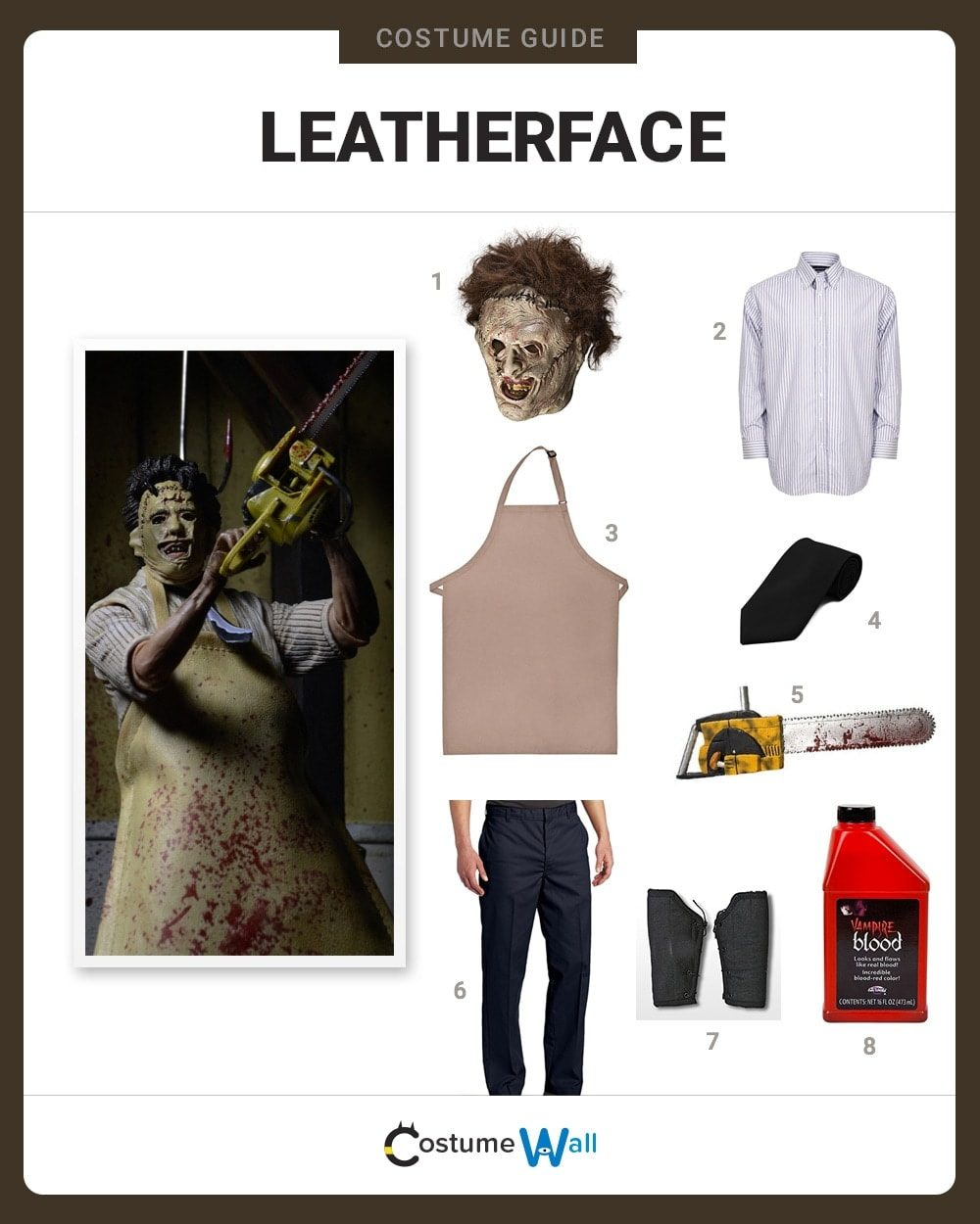 Leatherface Costume Guide