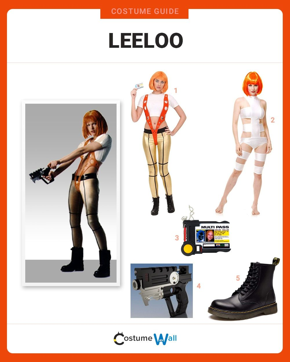 Leeloo Costume Guide