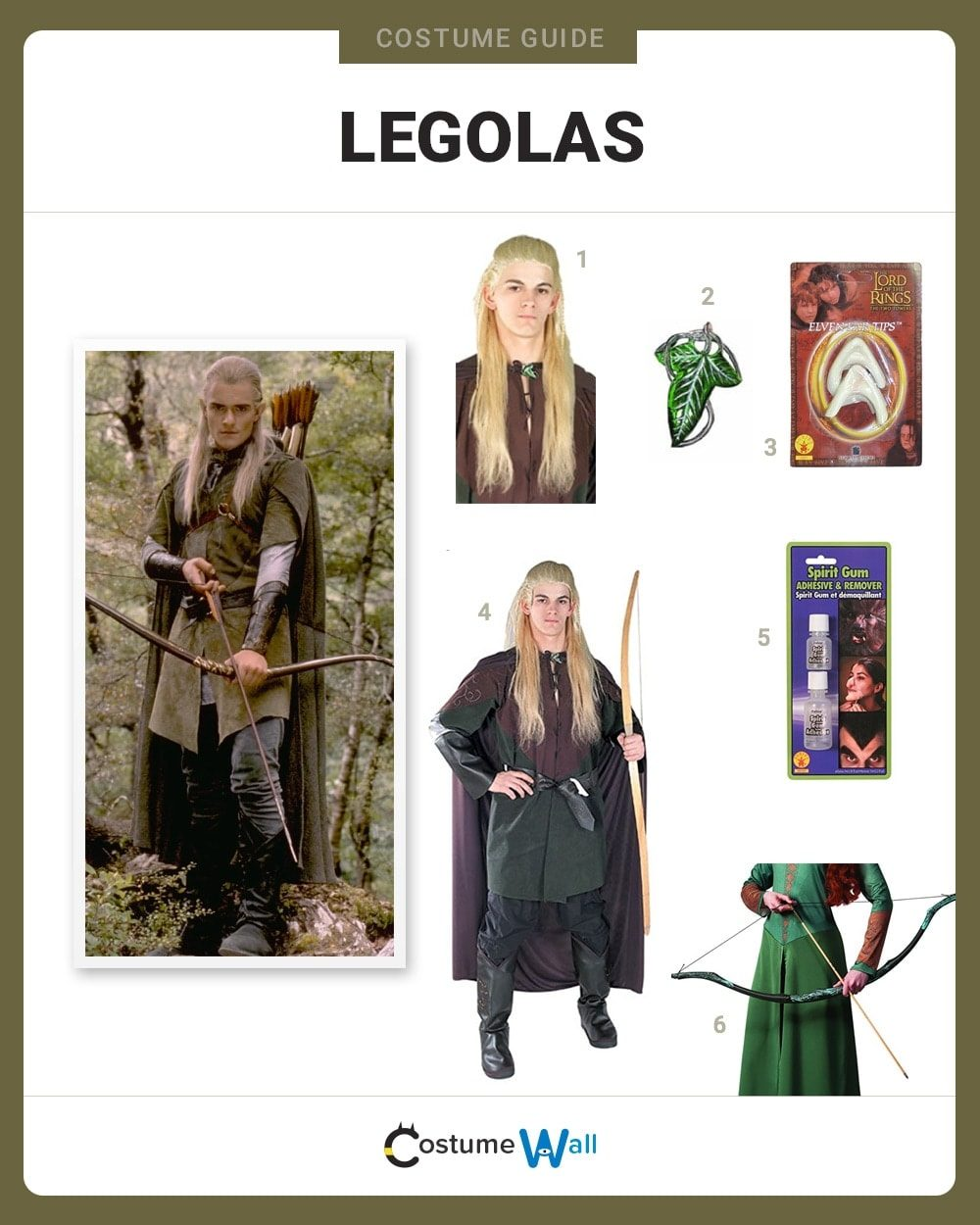 Legolas Costume Guide