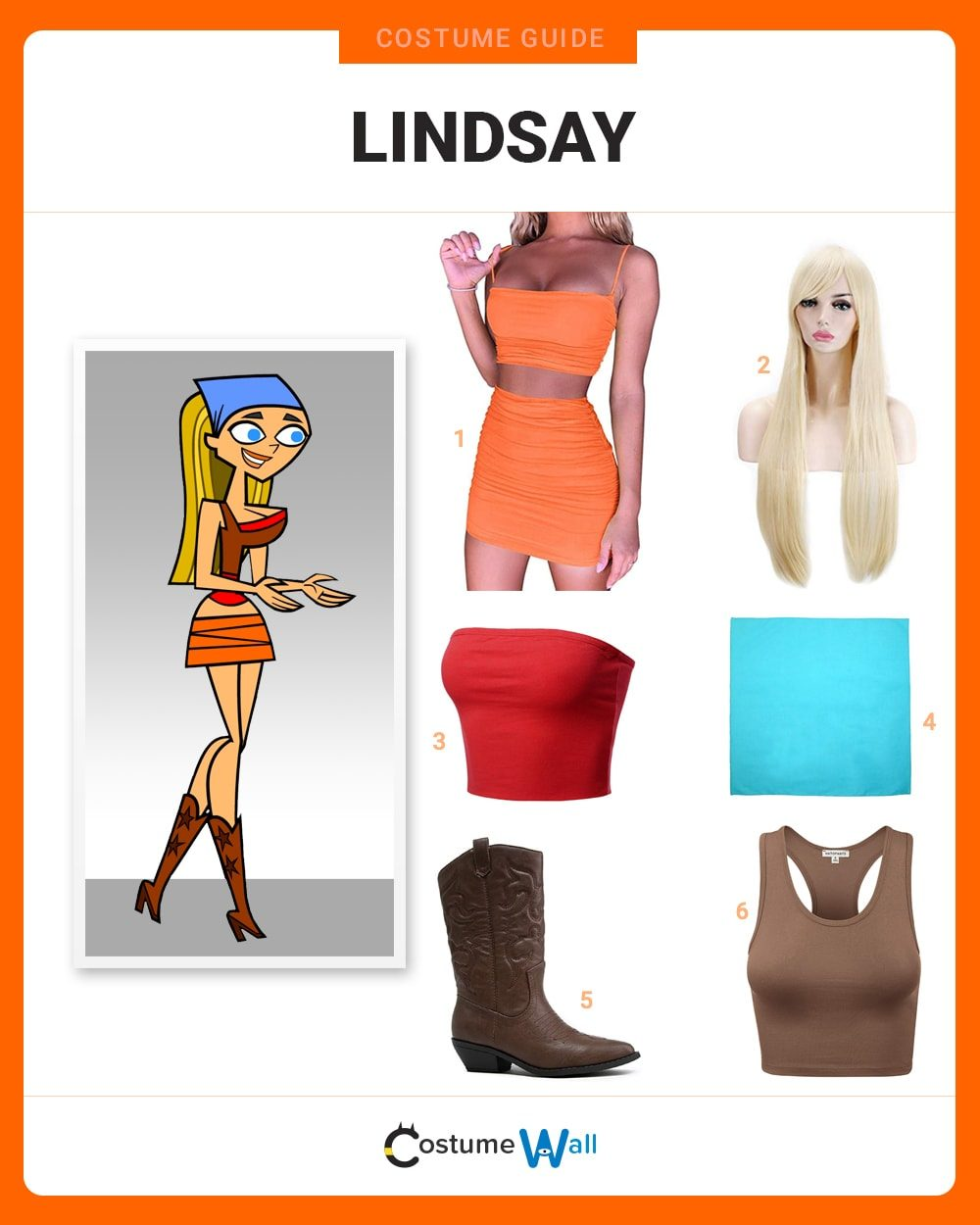 Lindsay  Costume Guide