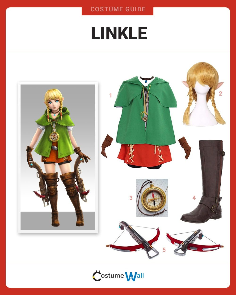 Linkle Costume Guide