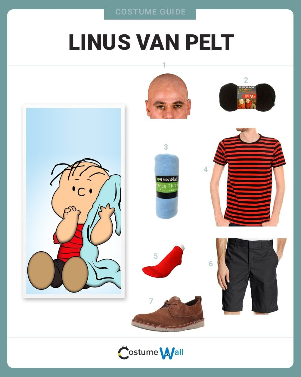 Best Linus van Pelt Costume Guide  sc 1 st  Costume Wall & Dress Like Linus van Pelt Costume | Halloween and Cosplay Guides