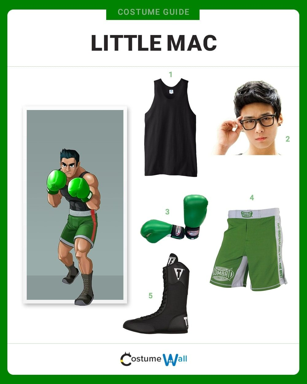 Little Mac Costume Guide