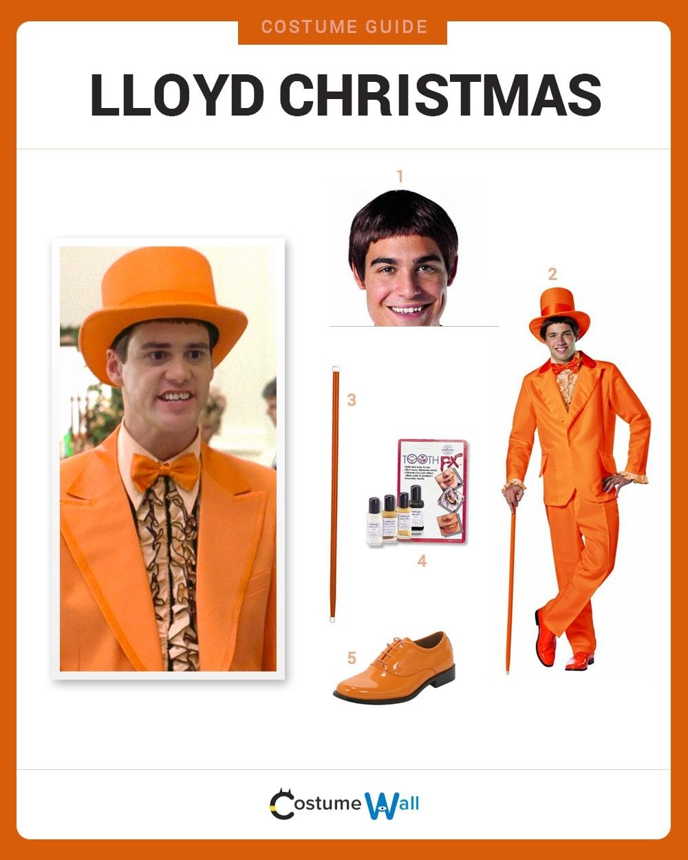 Lloyd Christmas Costume