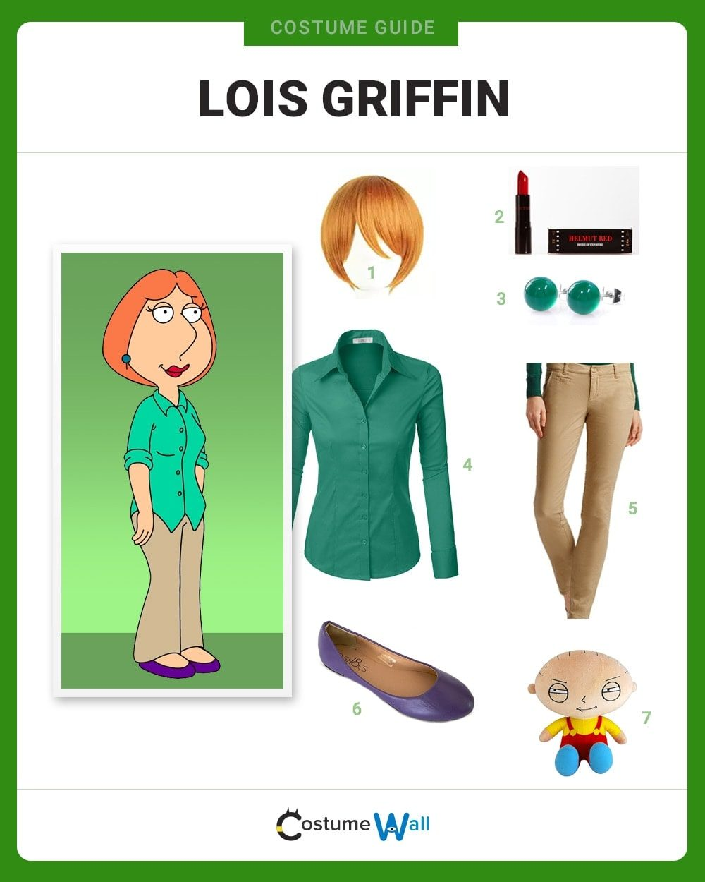 Lois Griffin Costume Guide