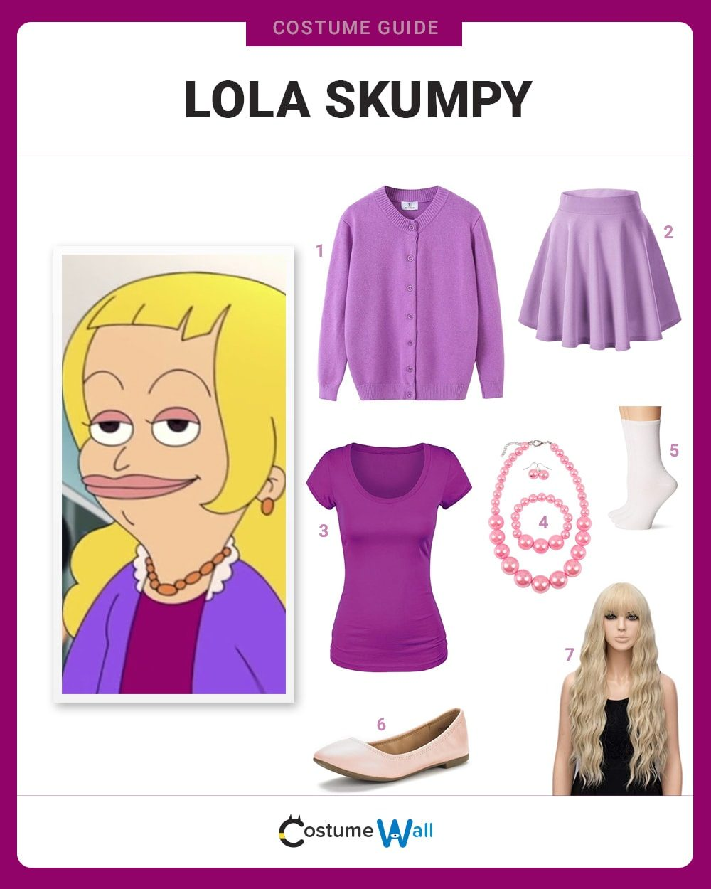 Lola Skumpy  Costume Guide