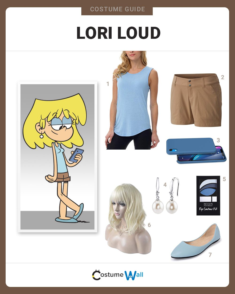 Lori Loud  Costume Guide