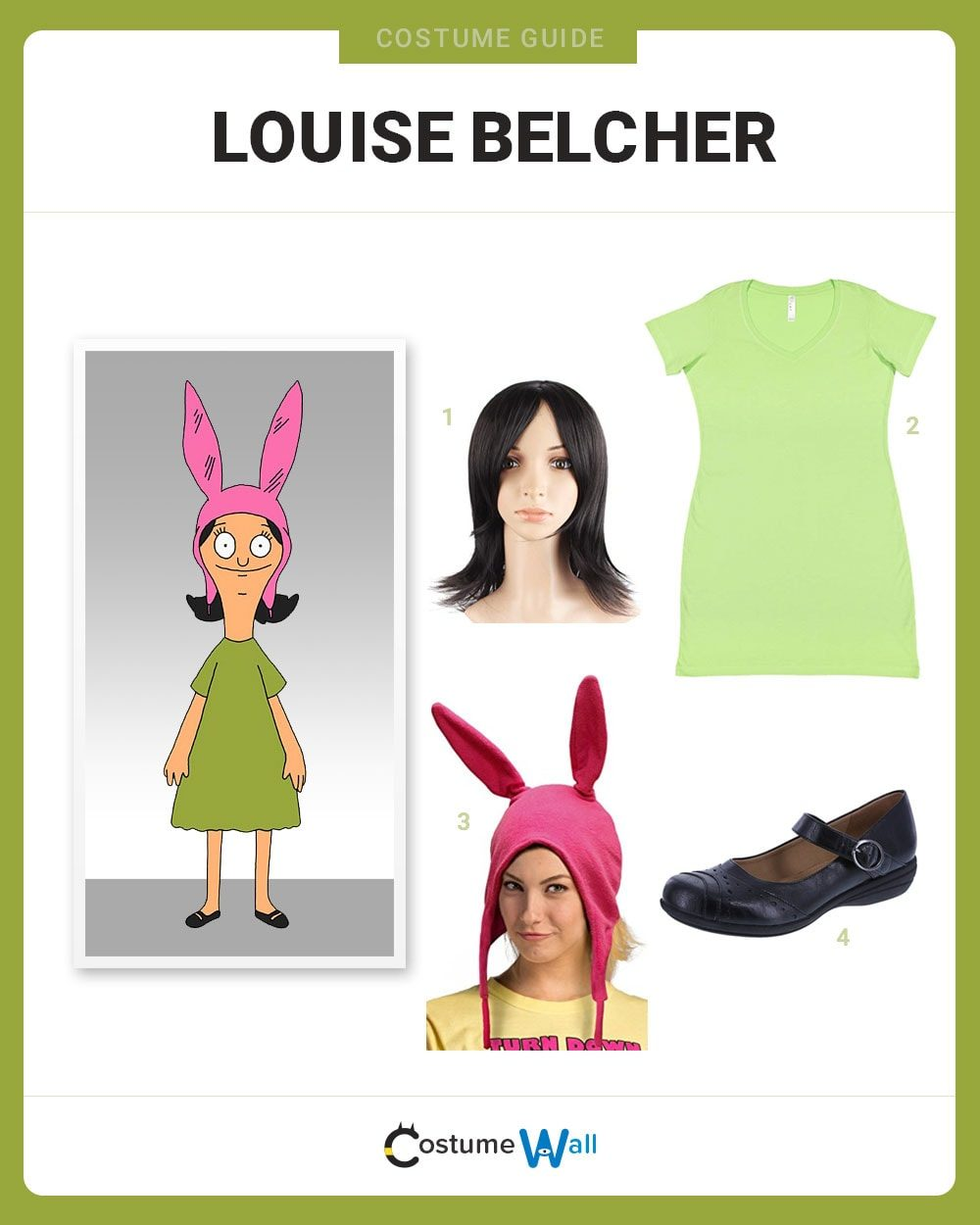 Louise Belcher Costume Guide