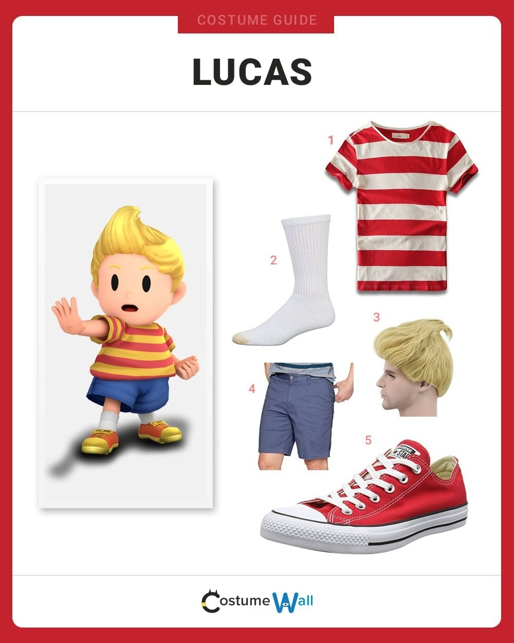 Lucas Costume Guide