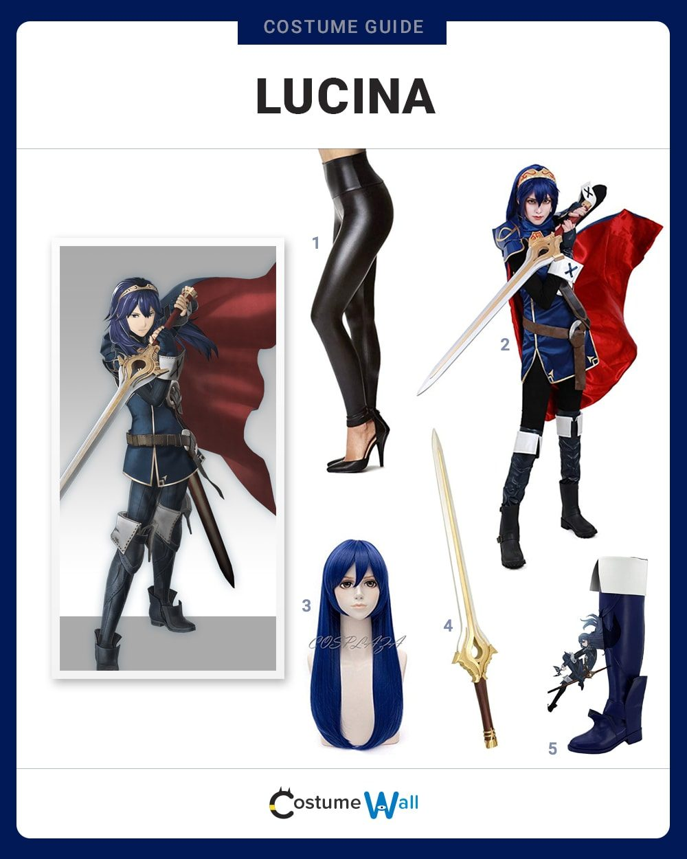 Lucina Costume Guide