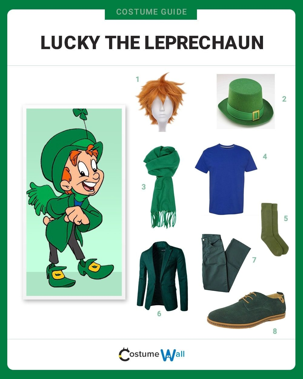Lucky the Leprechaun Costume Guide