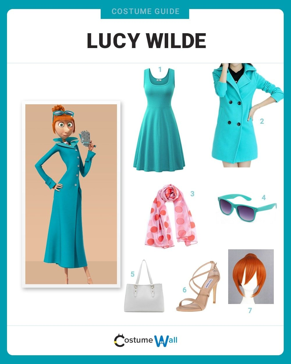 Lucy Wilde Costume Guide