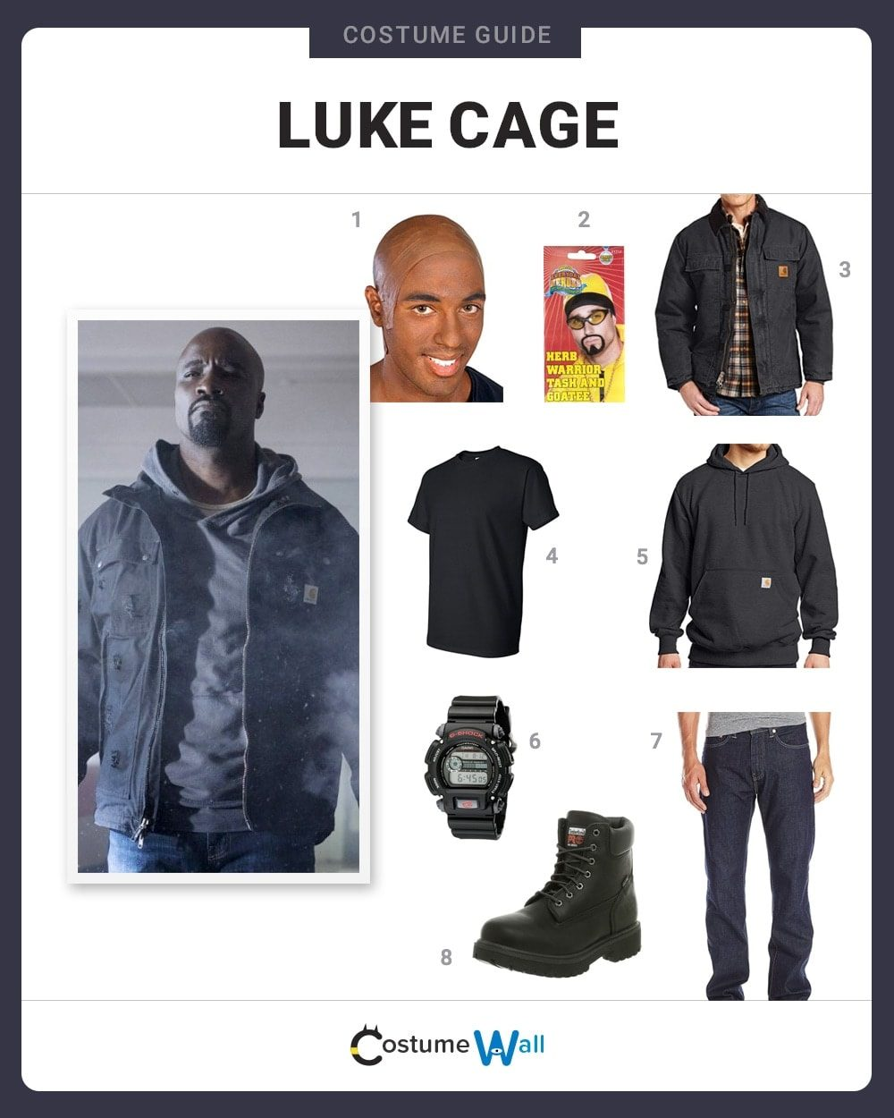 Luke Cage Costume Guide