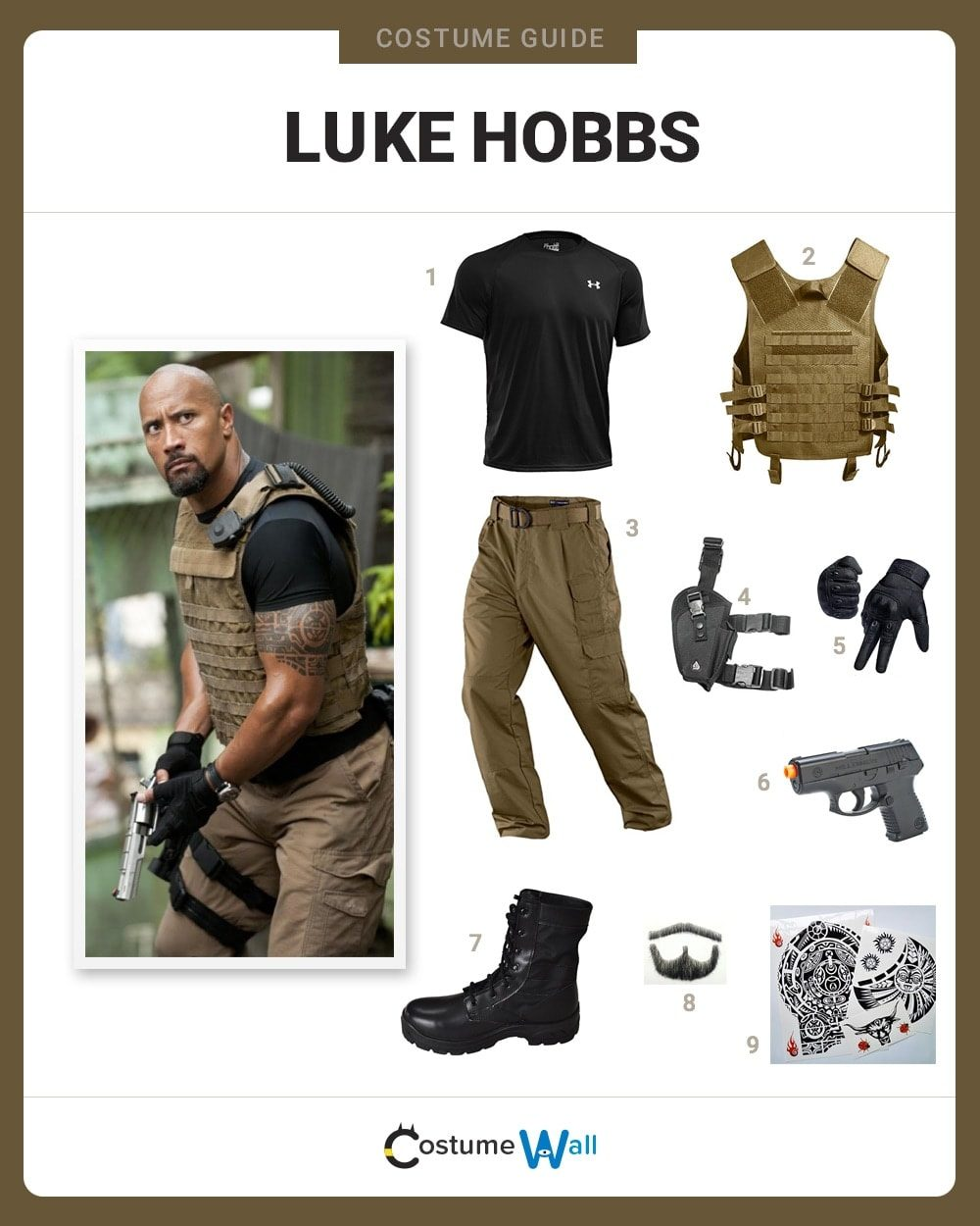 Luke Hobbs Costume
