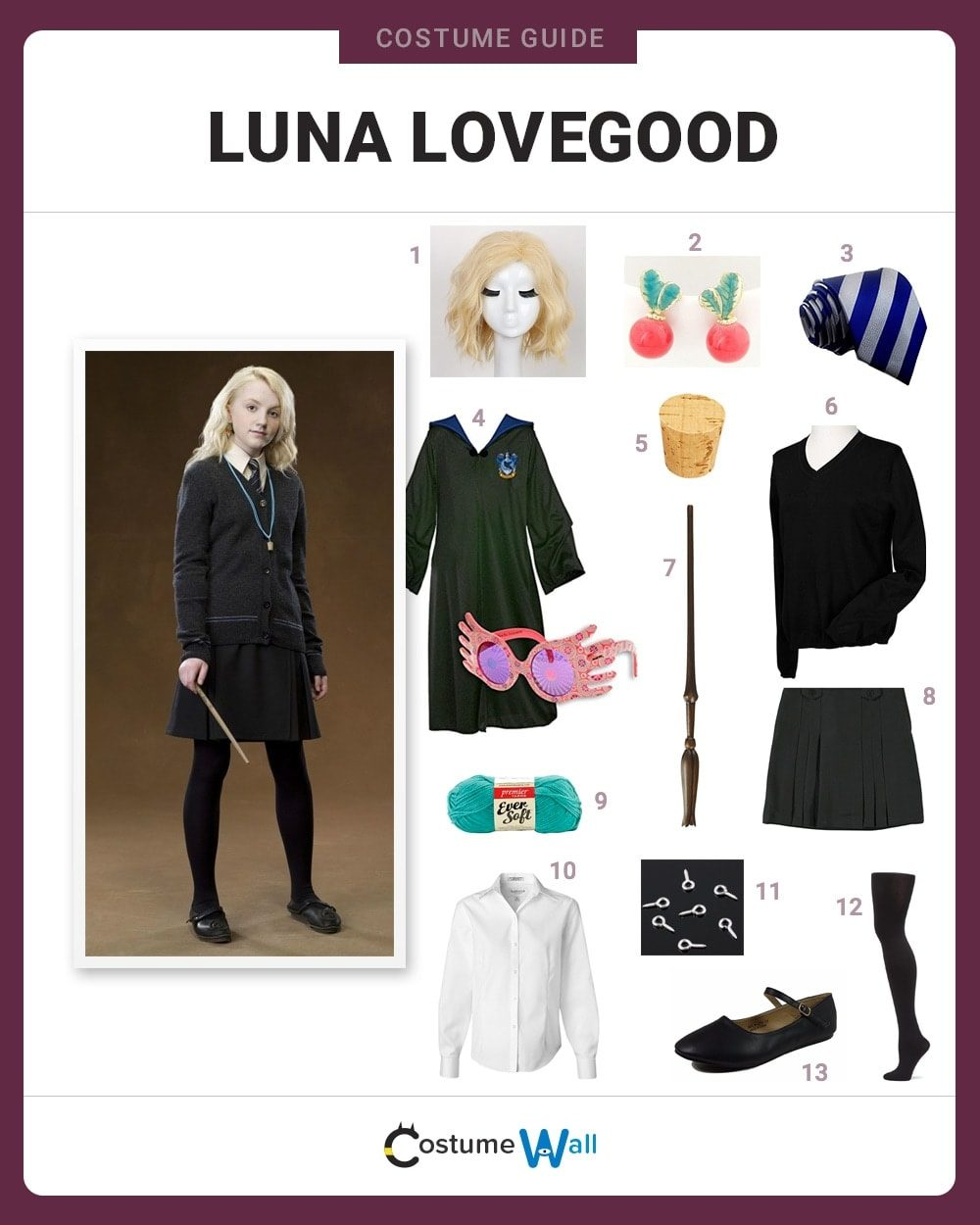 Luna Lovegood Costume Guide