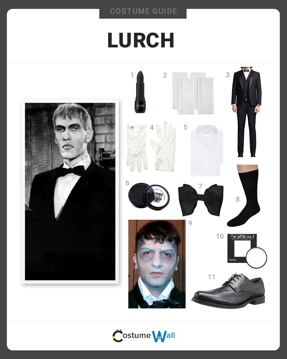Lurch  Costume Guide