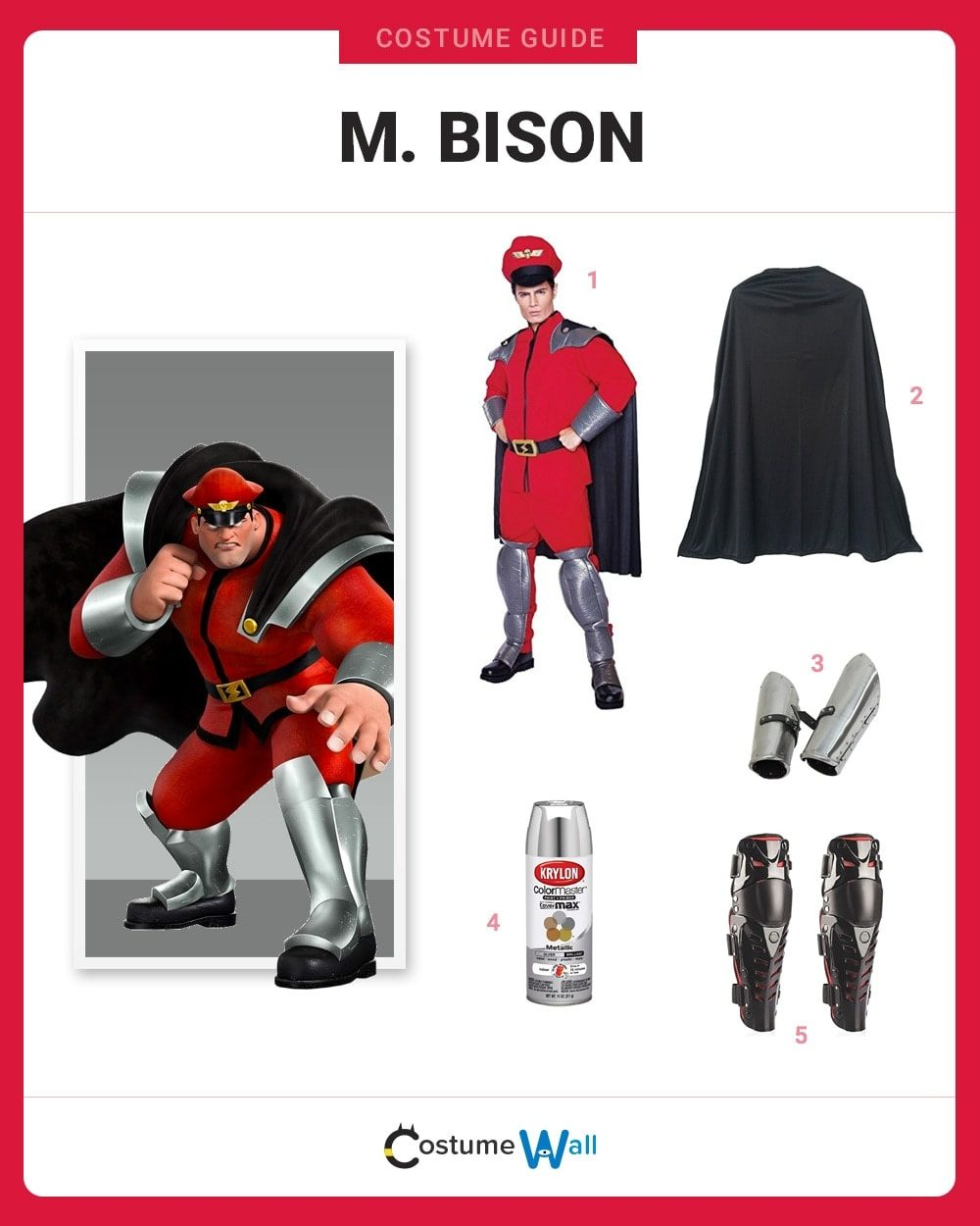M. Bison Costume Guide
