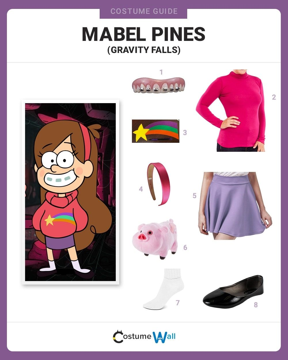 Mabel Pines Costume Guide