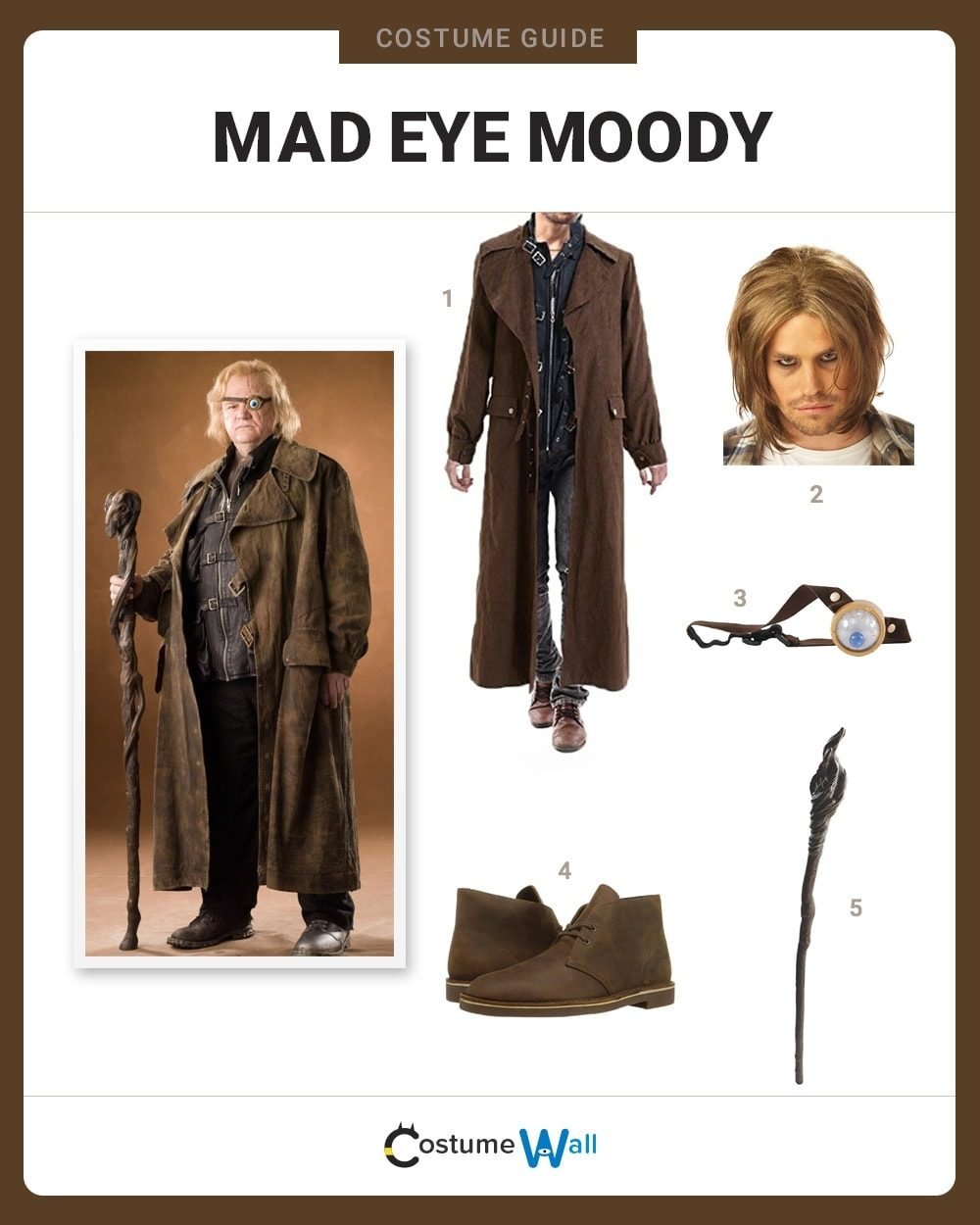 Mad Eye Moody Costume Guide
