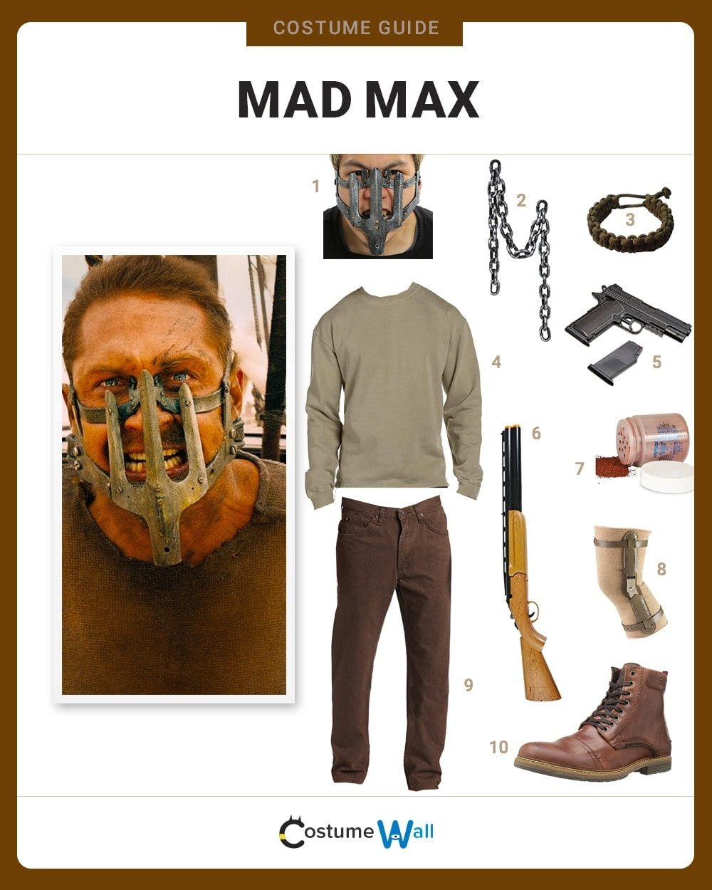 Extrem Dress Like Mad Max Costume | Halloween and Cosplay Guides OI83