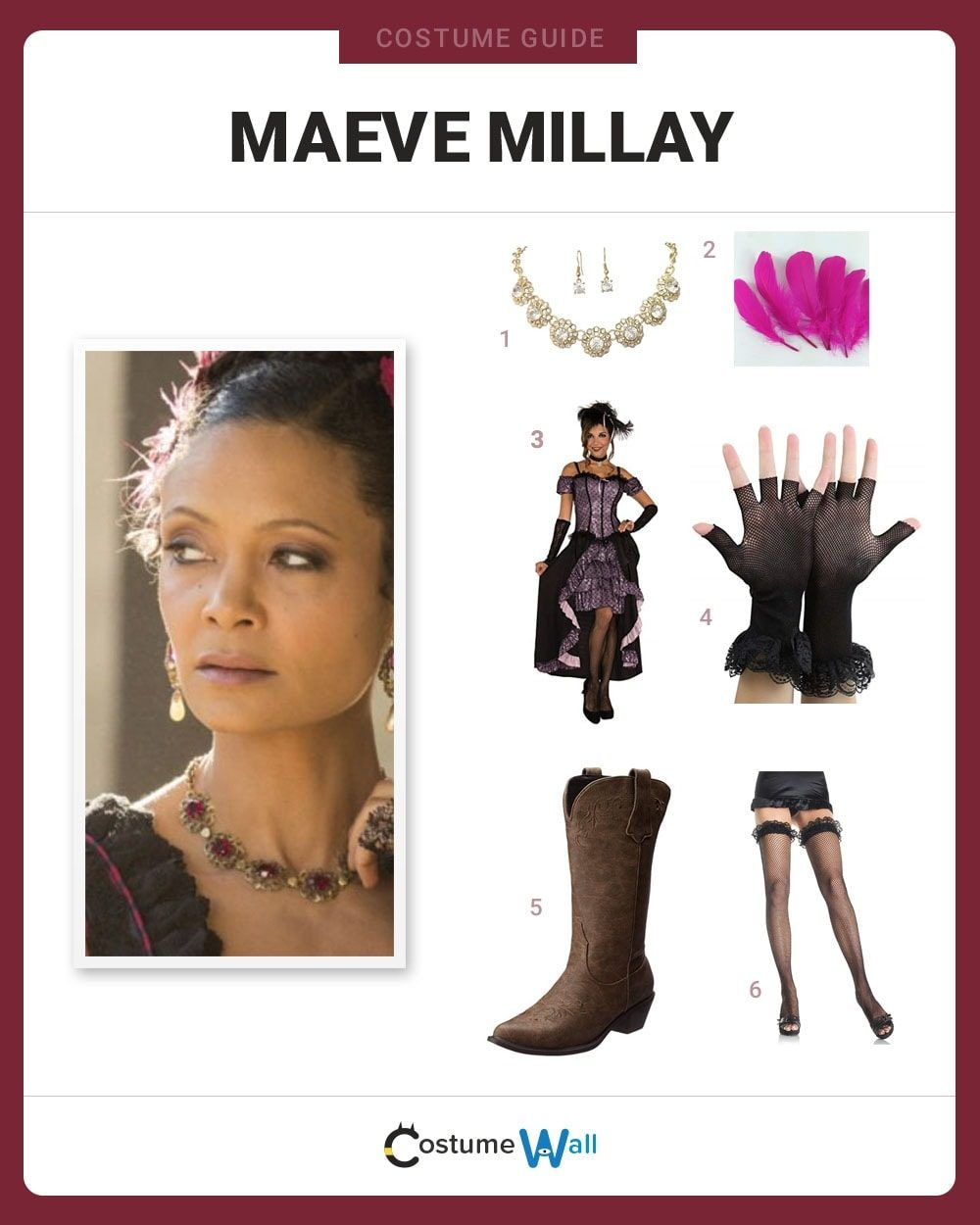Maeve Millay Costume Guide