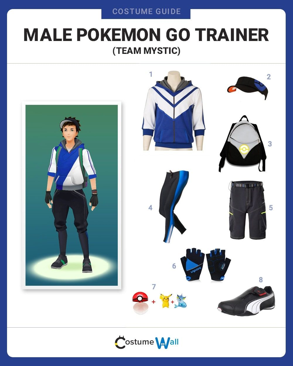 Mystic Trainer (M) Costume Guide