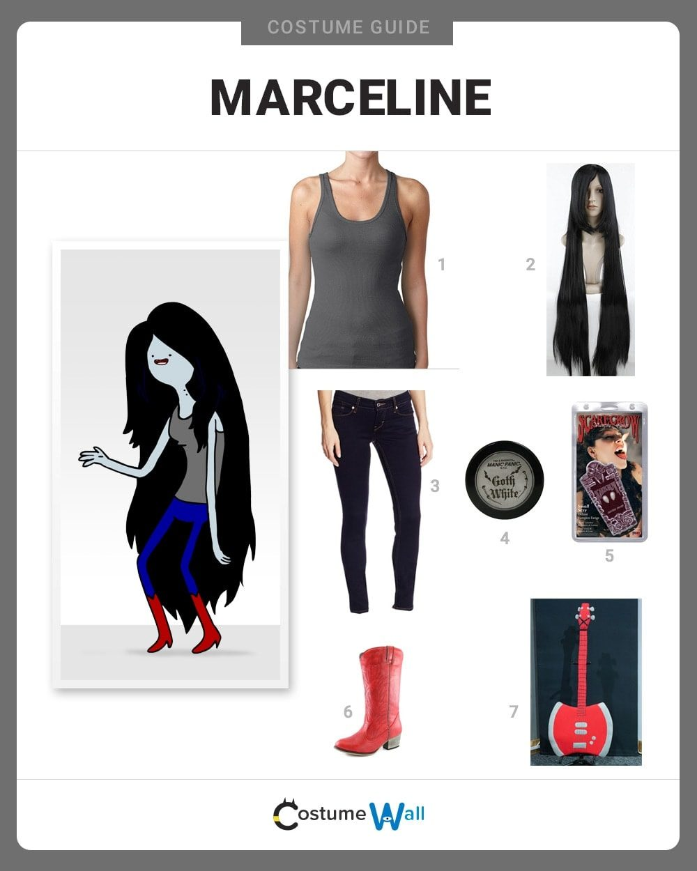 Adventure Time Costumes Marceline - Adult Archive-6727
