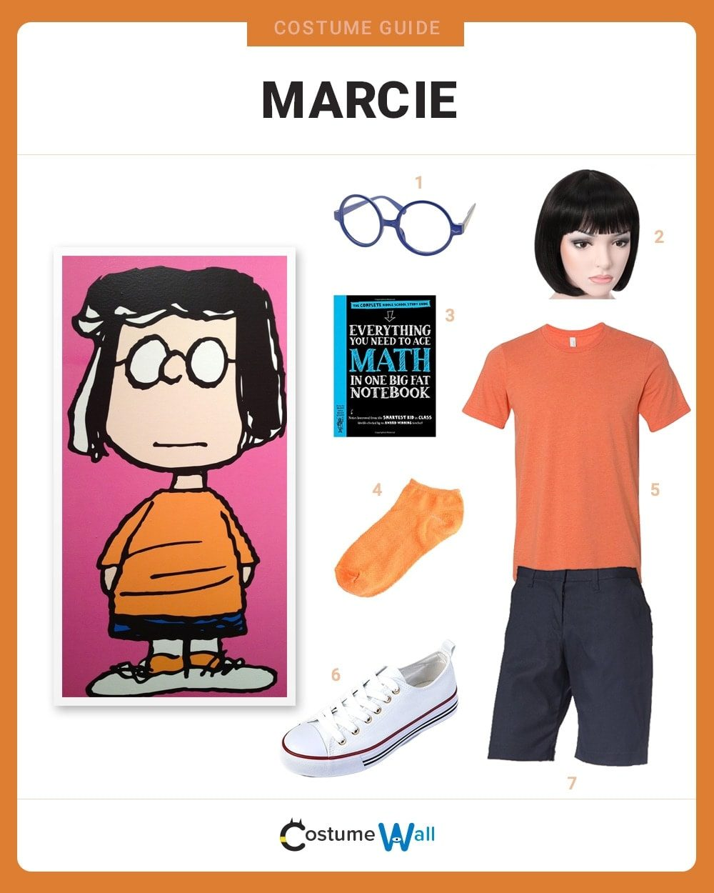 Marcie Costume Guide