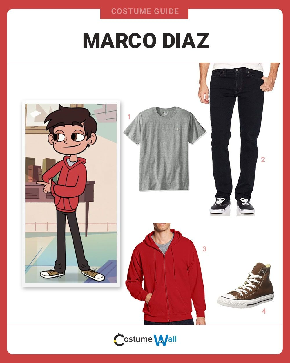 Marco Diaz Costume Guide