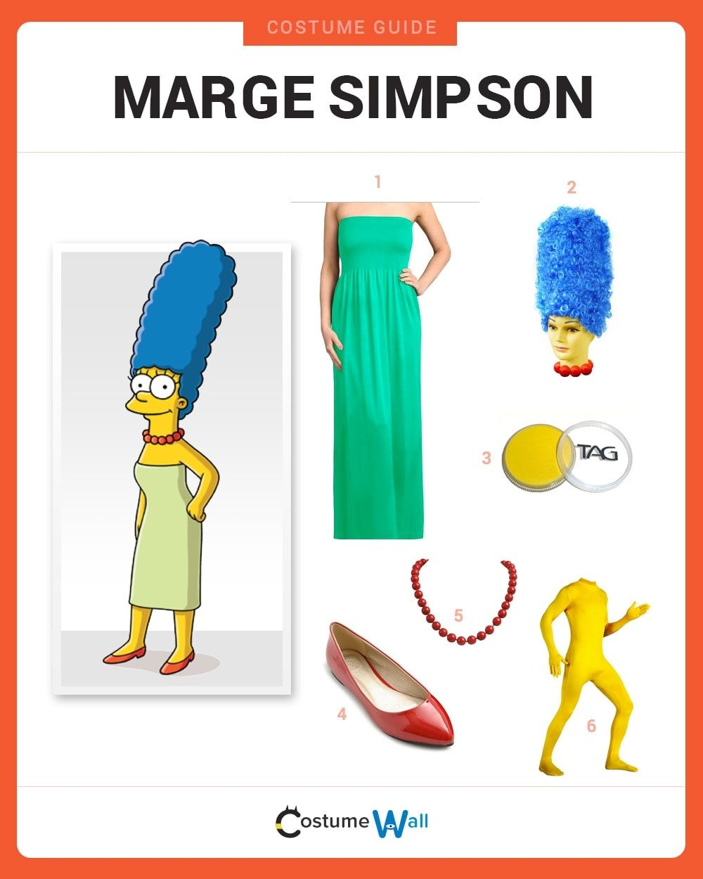 Marge Simpson Costume Guide