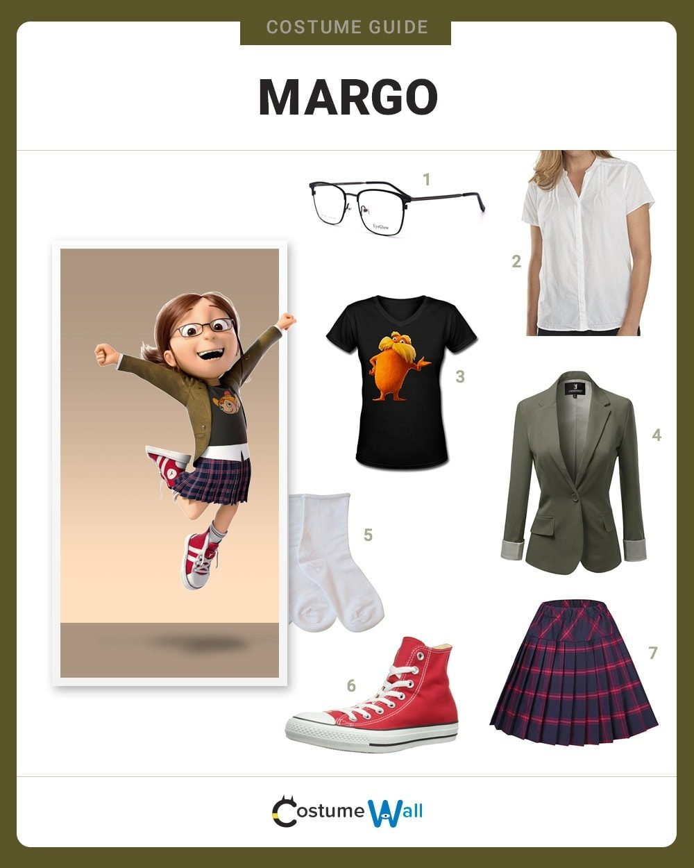 Margo Gru Costume Guide