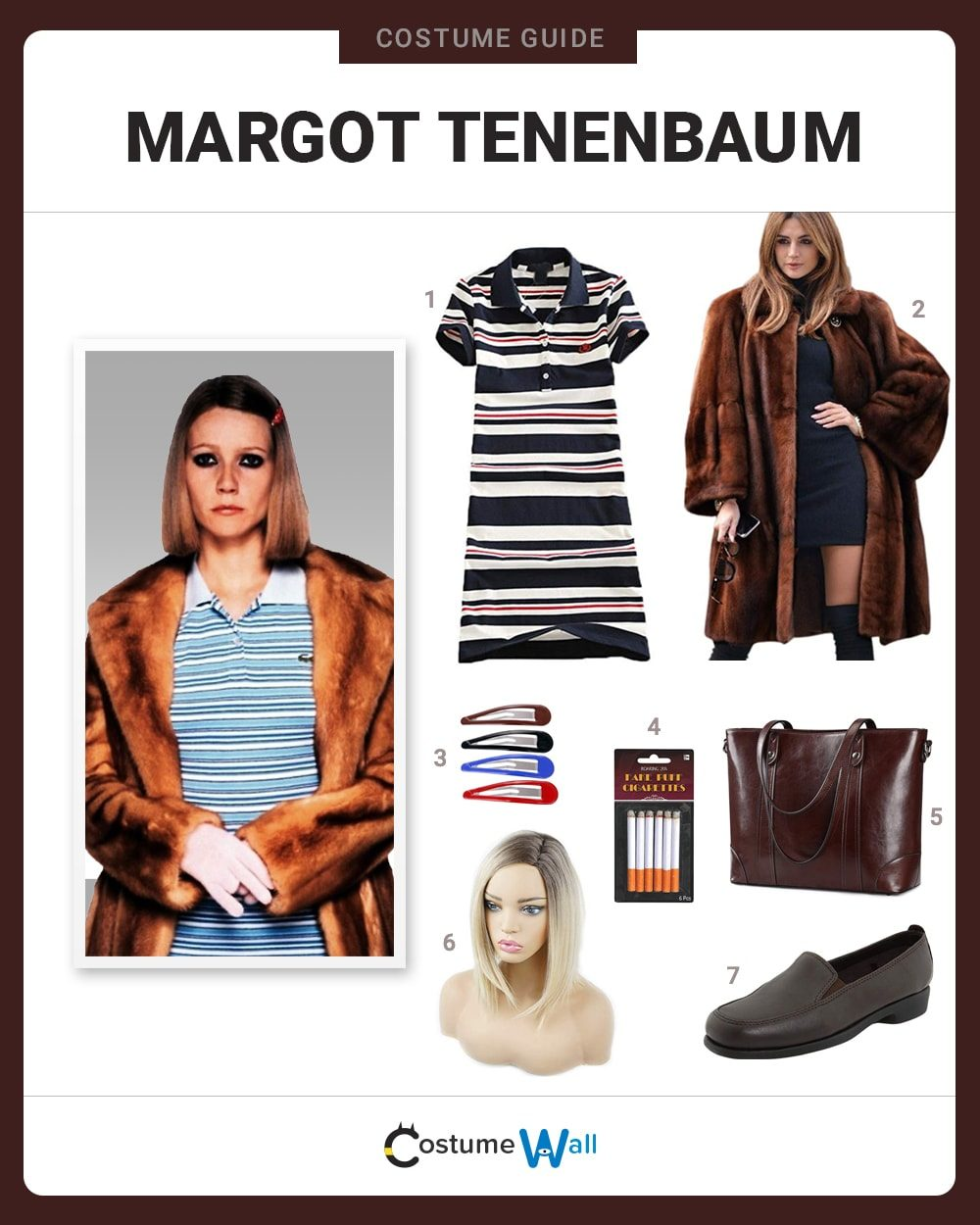 Margot Tenenbaum  Costume Guide