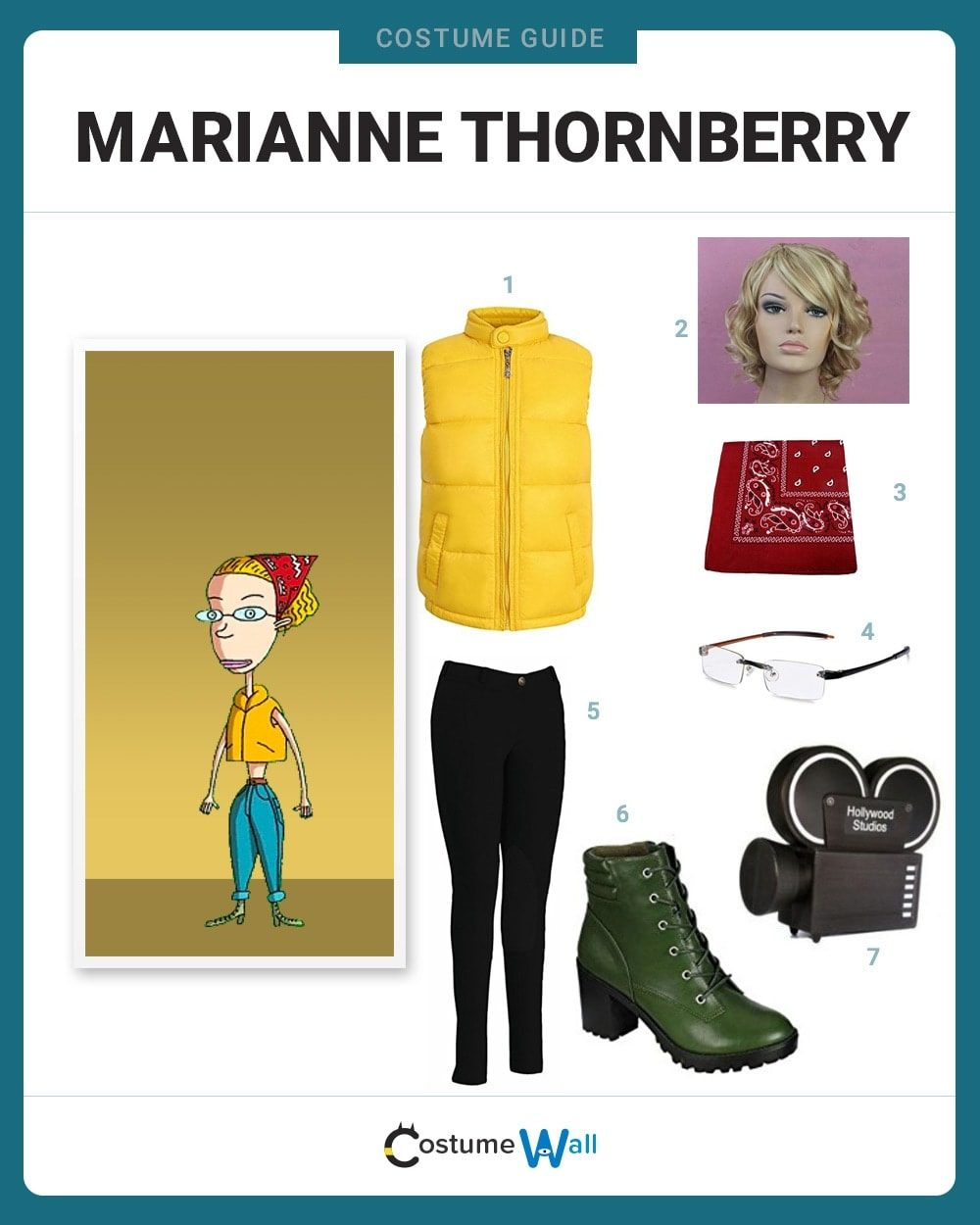 Marianne Hunter Thornberry Costume Guide