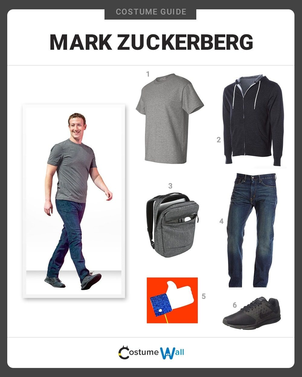 Mark Zuckerberg Costume Guide