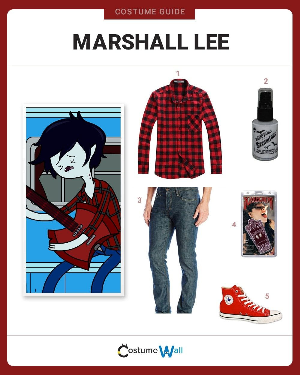 Dress Like Marshall Lee Costume