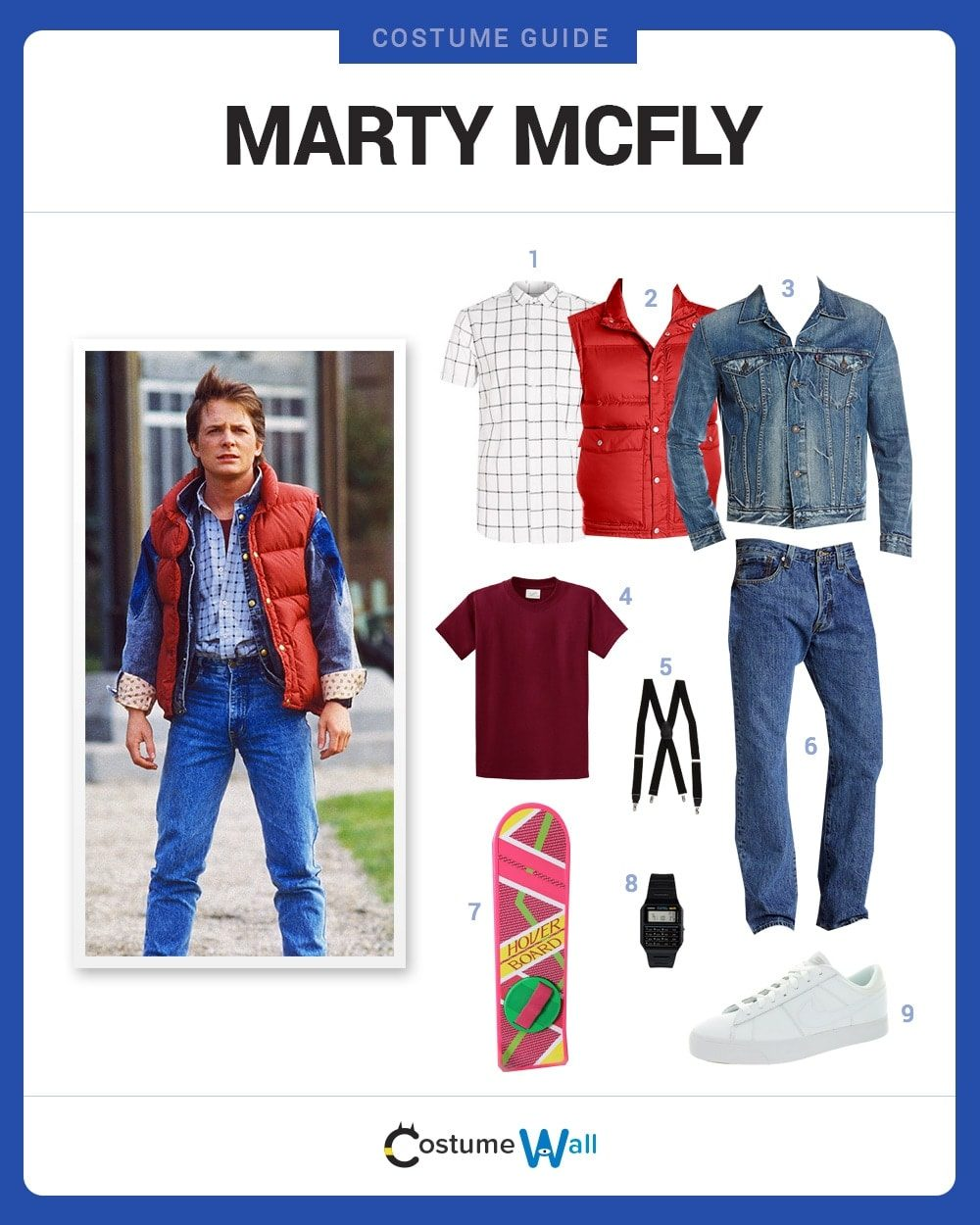 Marty McFly Costume Guide