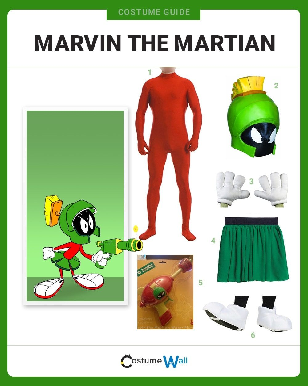 Marvin the Martian Costume Guide