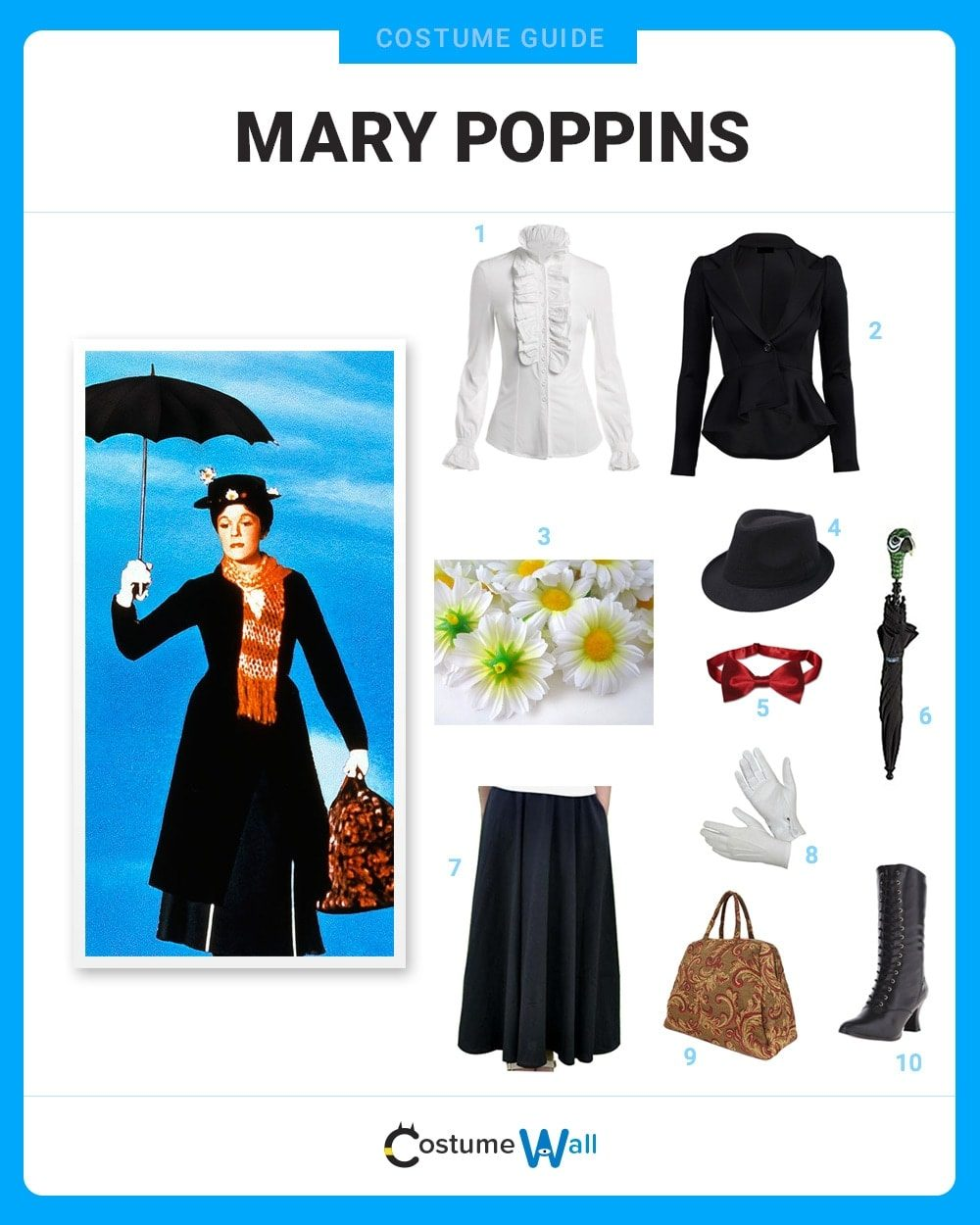 Mary Poppins Costume Guide